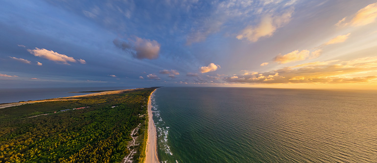 Curonian Spit, Lithuania - AirPano.com • 360° Aerial Panoramas • 360° Virtual Tours Around the World