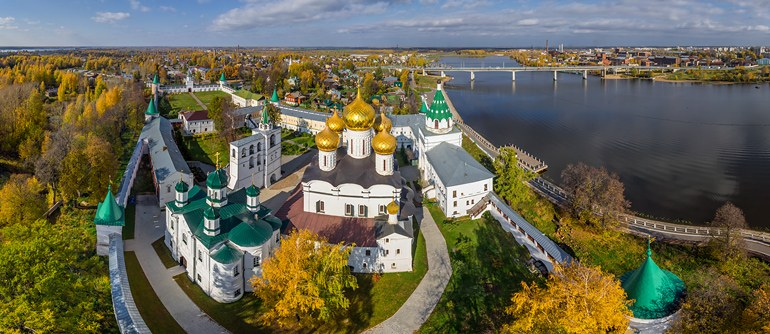 Golden Ring of Russia, Kostroma - AirPano.com • 360° Aerial Panoramas • 360° Virtual Tours Around the World