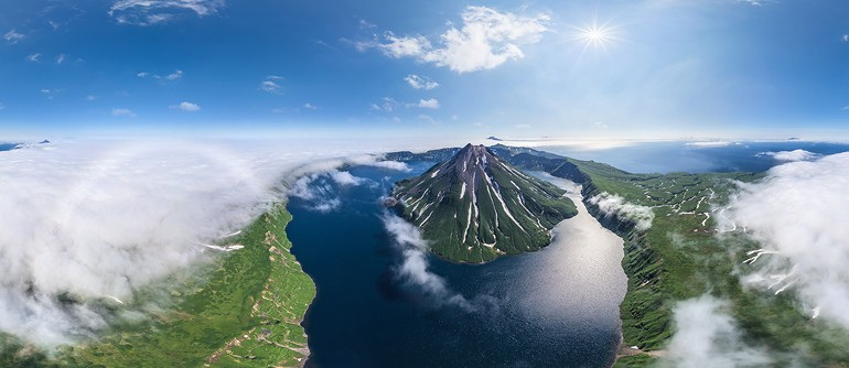North Kurile Islands, Russia - AirPano.com • 360° Aerial Panoramas • 360° Virtual Tours Around the World