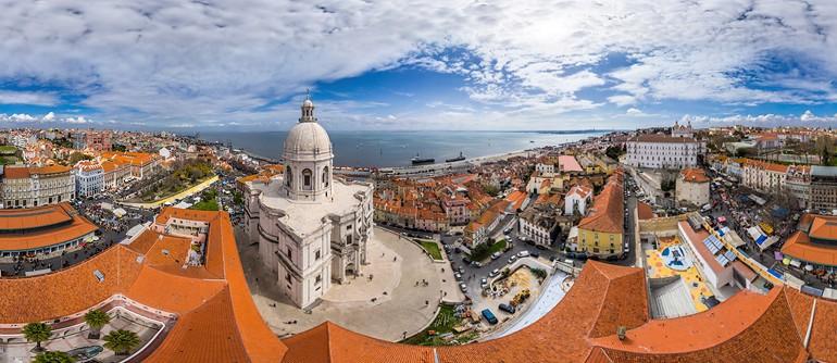 Lisbon, Portugal - AirPano.com • 360° Aerial Panoramas • 360° Virtual Tours Around the World