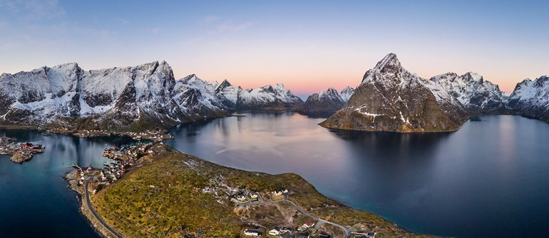 Lofoten archipelago, Norway - AirPano.com • 360° Aerial Panoramas • 360° Virtual Tours Around the World