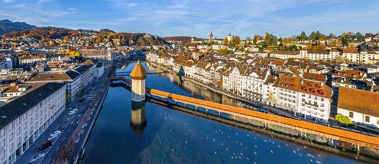 Lucerne, Switzerland - AirPano.com • 360° Aerial Panoramas • 360° Virtual Tours Around the World