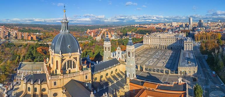 Madrid, Spain - AirPano.com • 360° Aerial Panoramas • 360° Virtual Tours Around the World