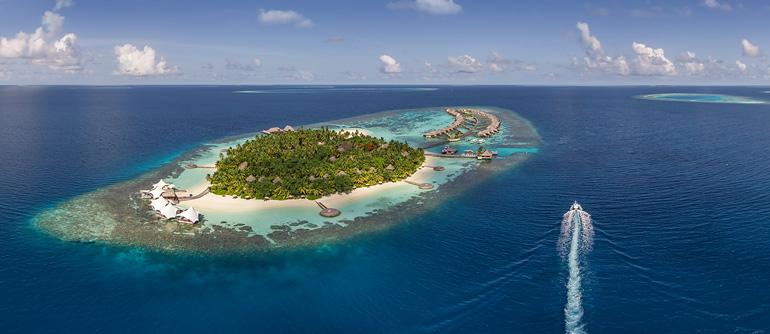 Maldives. W Retreat & Spa  - AirPano.com • 360° Aerial Panoramas • 360° Virtual Tours Around the World