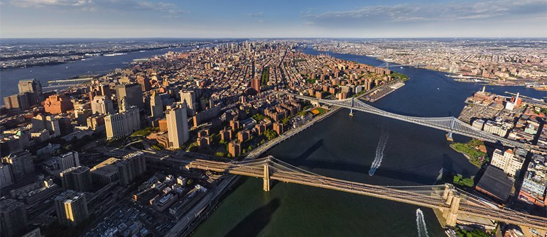 Helicopter Journey over Manhattan, New York, USA - AirPano.com • 360° Aerial Panoramas • 360° Virtual Tours Around the World