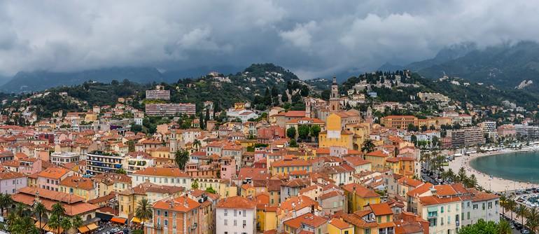 Cote d'Azur. Menton - AirPano.com • 360° Aerial Panoramas • 360° Virtual Tours Around the World