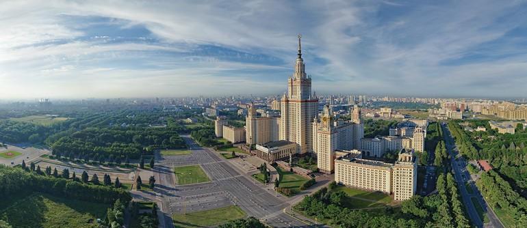 Moscow State University - AirPano.com • 360° Aerial Panoramas • 360° Virtual Tours Around the World