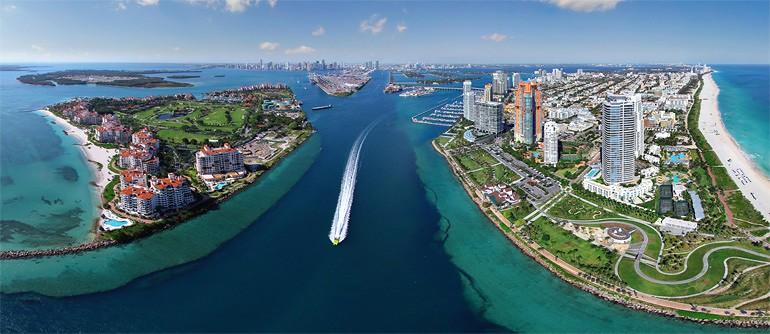 Miami, Florida, USA - AirPano.com • 360° Aerial Panoramas • 360° Virtual Tours Around the World