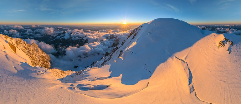 Mont Blanc, Italy-France - AirPano.com • 360° Aerial Panoramas • 360° Virtual Tours Around the World