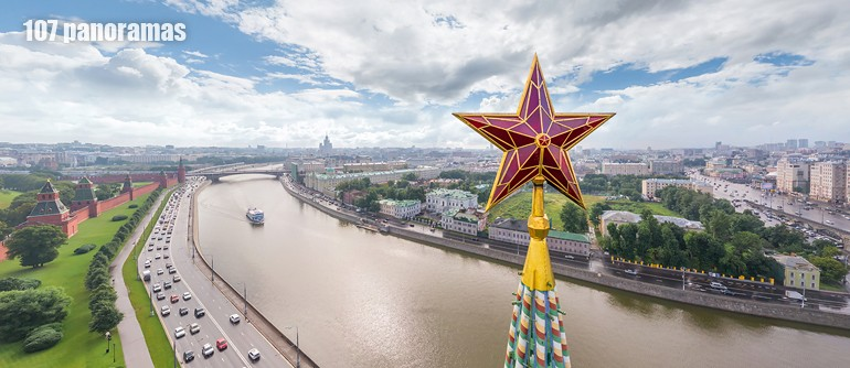 Grand tour of Moscow, Russia - AirPano.com • 360° Aerial Panoramas • 360° Virtual Tours Around the World