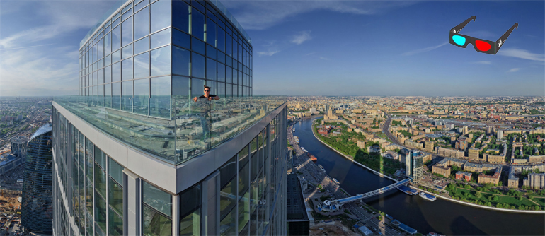 Moscow City View, Stereo Panorama - AirPano.com • 360° Aerial Panoramas • 360° Virtual Tours Around the World