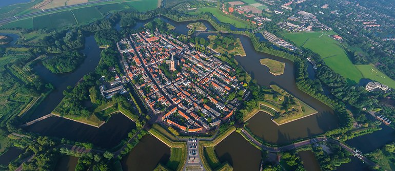 Naarden, Netherlands - AirPano.com • 360° Aerial Panoramas • 360° Virtual Tours Around the World