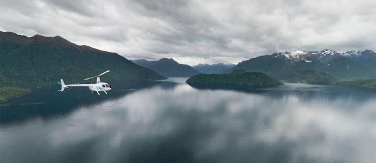 Fiordland, New Zealand - AirPano.com • 360° Aerial Panoramas • 360° Virtual Tours Around the World