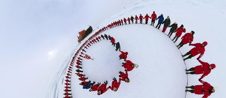 Trip to the North Pole - AirPano.com • 360° Aerial Panoramas • 360° Virtual Tours Around the World