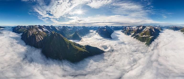 Norwegian Fjords - AirPano.com • 360° Aerial Panoramas • 360° Virtual Tours Around the World