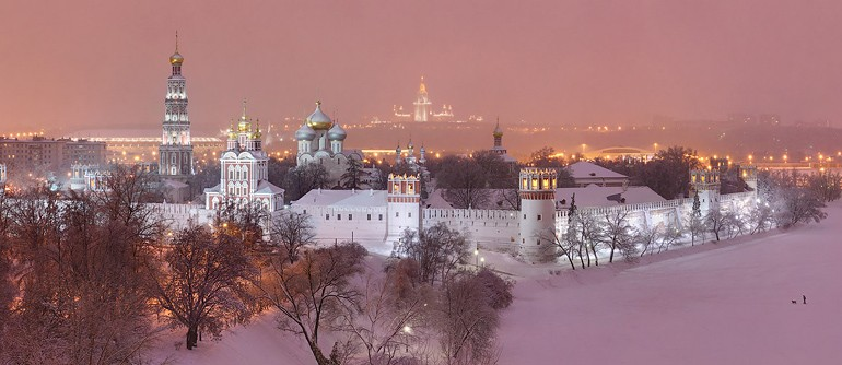 Novodevichy Convent, Moscow - AirPano.com • 360° Aerial Panoramas • 360° Virtual Tours Around the World
