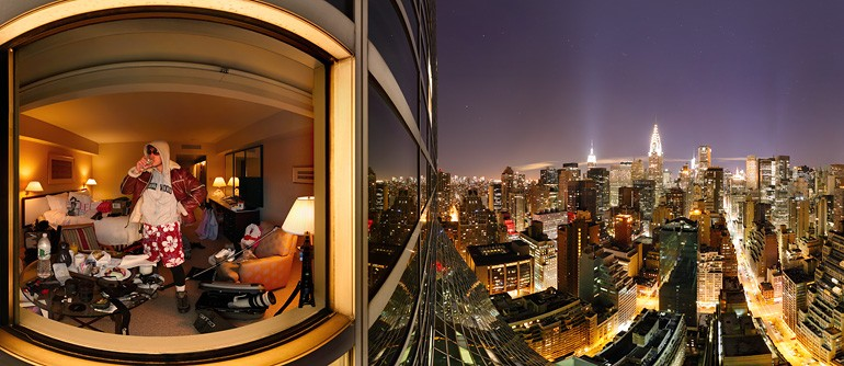 New York, Manhattan, Night - AirPano.com • 360° Aerial Panoramas • 360° Virtual Tours Around the World