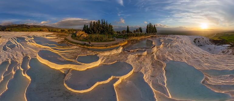 Pamukkale, Turkey - AirPano.com • 360° Aerial Panoramas • 360° Virtual Tours Around the World