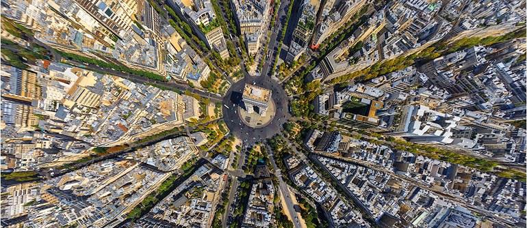 Paris, France - AirPano.com • 360° Aerial Panoramas • 360° Virtual Tours Around the World