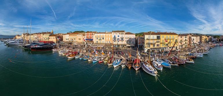 Cote d'Azur. Saint-Tropez and Saint-Maxime - AirPano.com • 360° Aerial Panoramas • 360° Virtual Tours Around the World