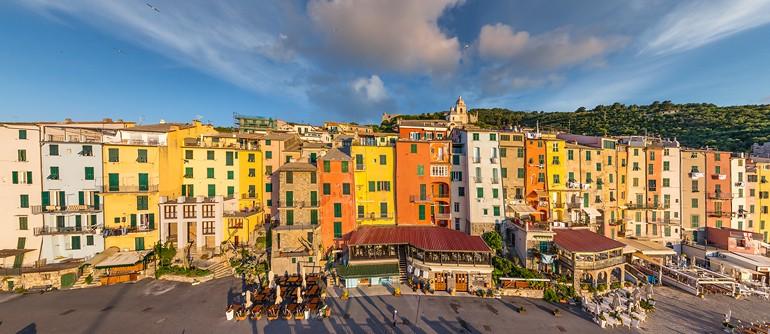 Porto Venere, Italy - AirPano.com • 360° Aerial Panoramas • 360° Virtual Tours Around the World