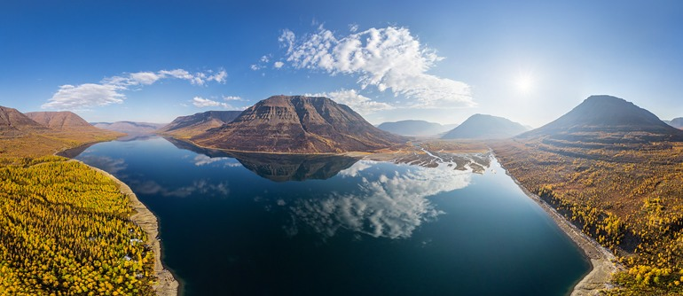 Putorana Plateau, Russia - AirPano.com • 360° Aerial Panoramas • 360° Virtual Tours Around the World