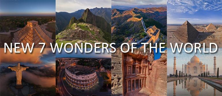 New 7 Wonders of the World | 360° Aerial Panoramas, 360° Virtual ...