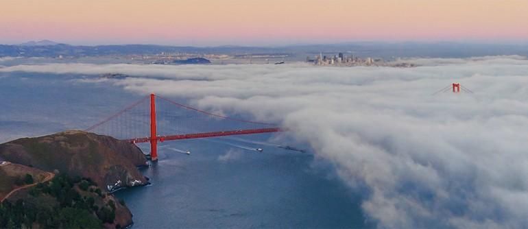 San Francisco, Golden Gate Bridge - AirPano.com • 360° Aerial Panoramas • 360° Virtual Tours Around the World