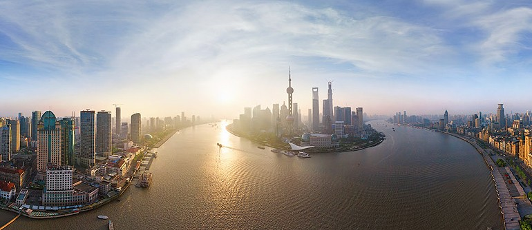 Shanghai, China - AirPano.com • 360° Aerial Panoramas • 360° Virtual Tours Around the World