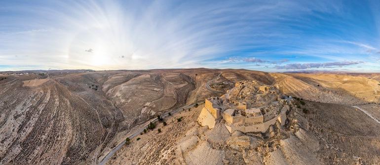 Shoubak Castle, Jordan - AirPano.com • 360° Aerial Panoramas • 360° Virtual Tours Around the World