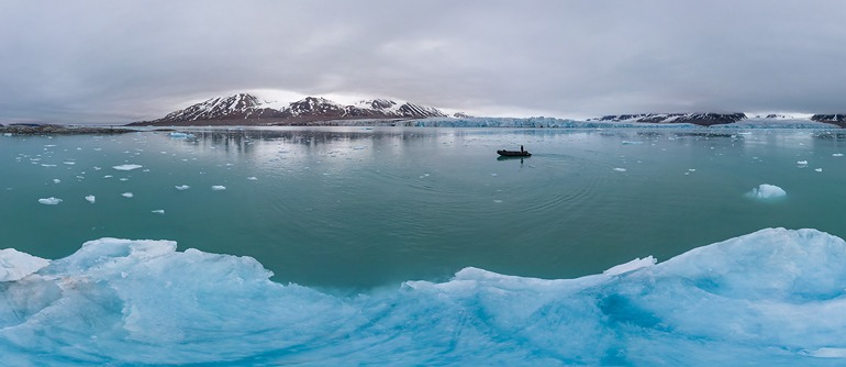 Svalbard (Spitsbergen), Norway - AirPano.com • 360° Aerial Panoramas • 360° Virtual Tours Around the World