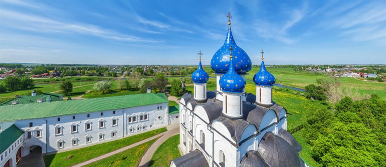 Golden Ring of Russia, City of Suzdal - AirPano.com • 360° Aerial Panoramas • 360° Virtual Tours Around the World