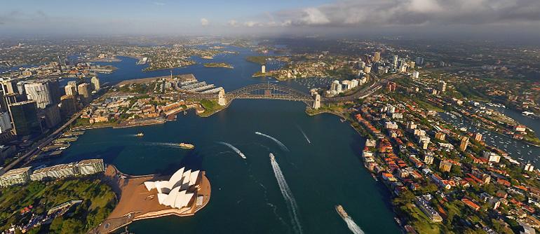 Sydney, Australia, 2008 - AirPano.com • 360° Aerial Panoramas • 360° Virtual Tours Around the World