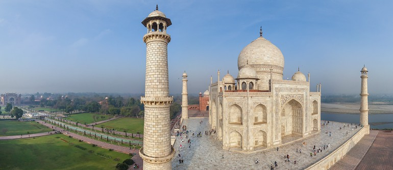 Taj Mahal, India. Part II - AirPano.com • 360° Aerial Panoramas • 360° Virtual Tours Around the World