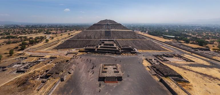 Teotihuacan, Mexico - AirPano.com • 360° Aerial Panoramas • 360° Virtual Tours Around the World