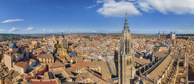 Toledo, Spain - AirPano.com • 360° Aerial Panoramas • 360° Virtual Tours Around the World
