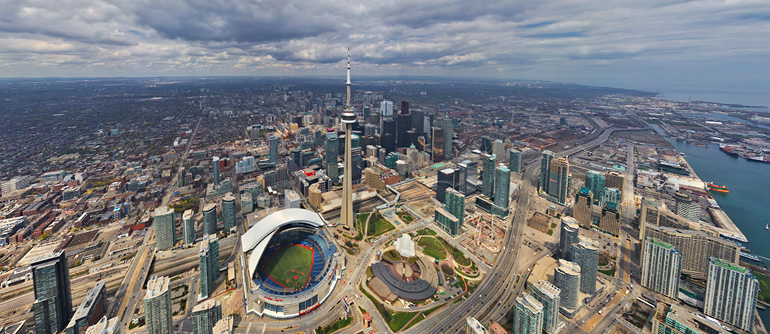 Virtual tour of toronto canada 360 aerial panoramas for Northwestern virtual tour