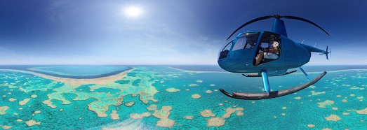 The Great Barrier Reef, Australia. Part I - AirPano.com • 360° Aerial Panoramas • 360° Virtual Tours Around the World
