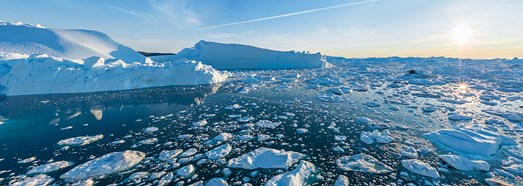 Icebergs of Greenland. Part I - AirPano.com • 360° Aerial Panoramas • 360° Virtual Tours Around the World