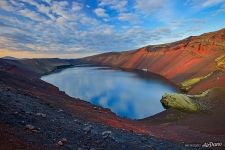 Red Crater, Veidivotn, Исландия