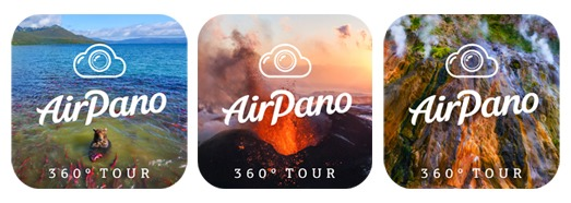Три приложения AirPano в Apple Store - AirPano.ru • 360 Degree Aerial Panorama • 3D Virtual Tours Around the World