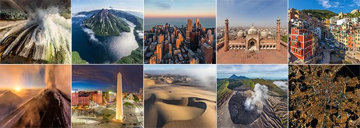 Лучшие панорамы AirPano за 2015 год - AirPano.ru • 360 Degree Aerial Panorama • 3D Virtual Tours Around the World