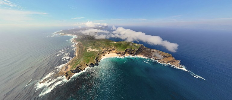 Cape of Good Hope, South Africa - AirPano.com • 360° Aerial Panoramas • 3D Virtual Tours Around the World