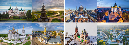Золотое кольцо России - AirPano.ru • 360 Degree Aerial Panorama • 3D Virtual Tours Around the World