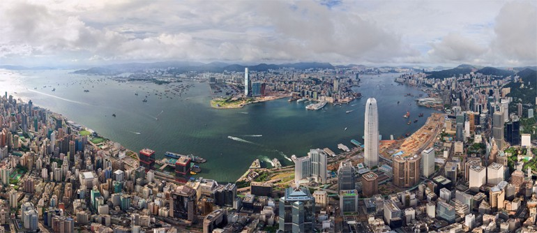 Hong Kong - the City Where Dreams Come True - AirPano.com • 360� Aerial Panorama • 3D Virtual Tours Around the World