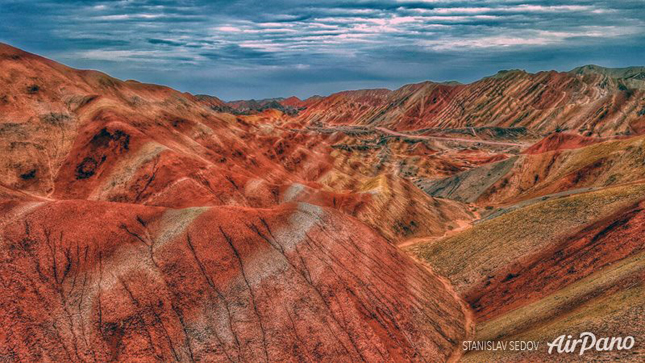 The Zhangye Danxia colored landforms