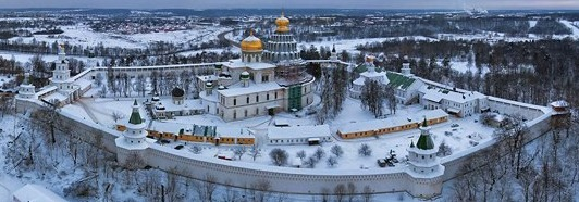 Новоиерусалимский Монастырь - AirPano.ru • 360 Degree Aerial Panorama • 3D Virtual Tours Around the World