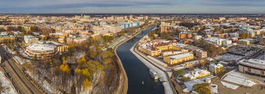 Golden Ring of Russia, Ivanovo • AirPano.com • 360 Degree Aerial Panorama • 3D Virtual Tours Around the World