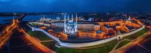Казань перед Универсиадой 2013 - AirPano.ru • 360 Degree Aerial Panorama • 3D Virtual Tours Around the World