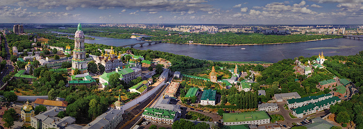 Киев. Храмы и монастыри - AirPano.ru • 360 Degree Aerial Panorama • 3D Virtual Tours Around the World